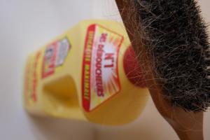 Le masque du miel du jus de citron de lhuile et loeuf sur les cheveux