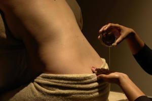Illustration de l'article Le soin Cocoon pour femme enceinte au Spa Thémaé