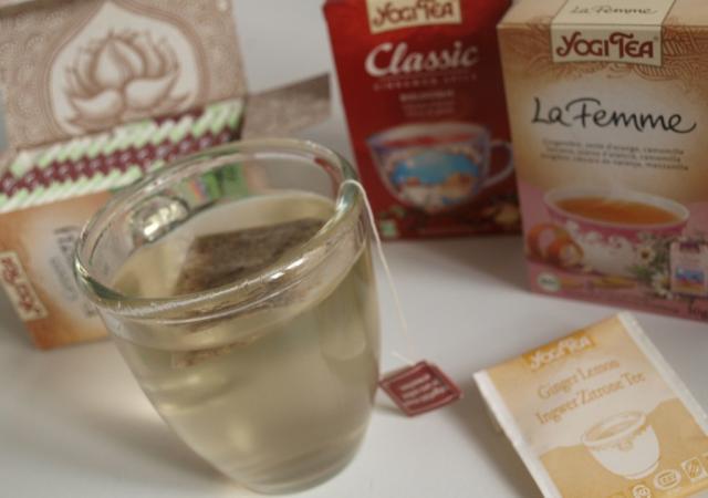 Les infusions Yogi Tea testées par 4 futures et jeunes mamans