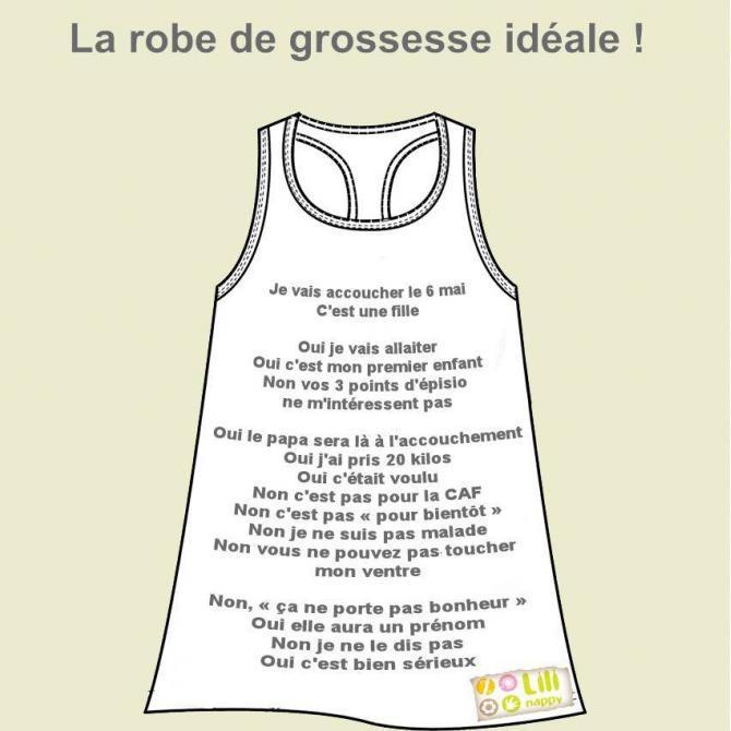 T Shirt De Grossesse 224 Message Pour Ou Contre