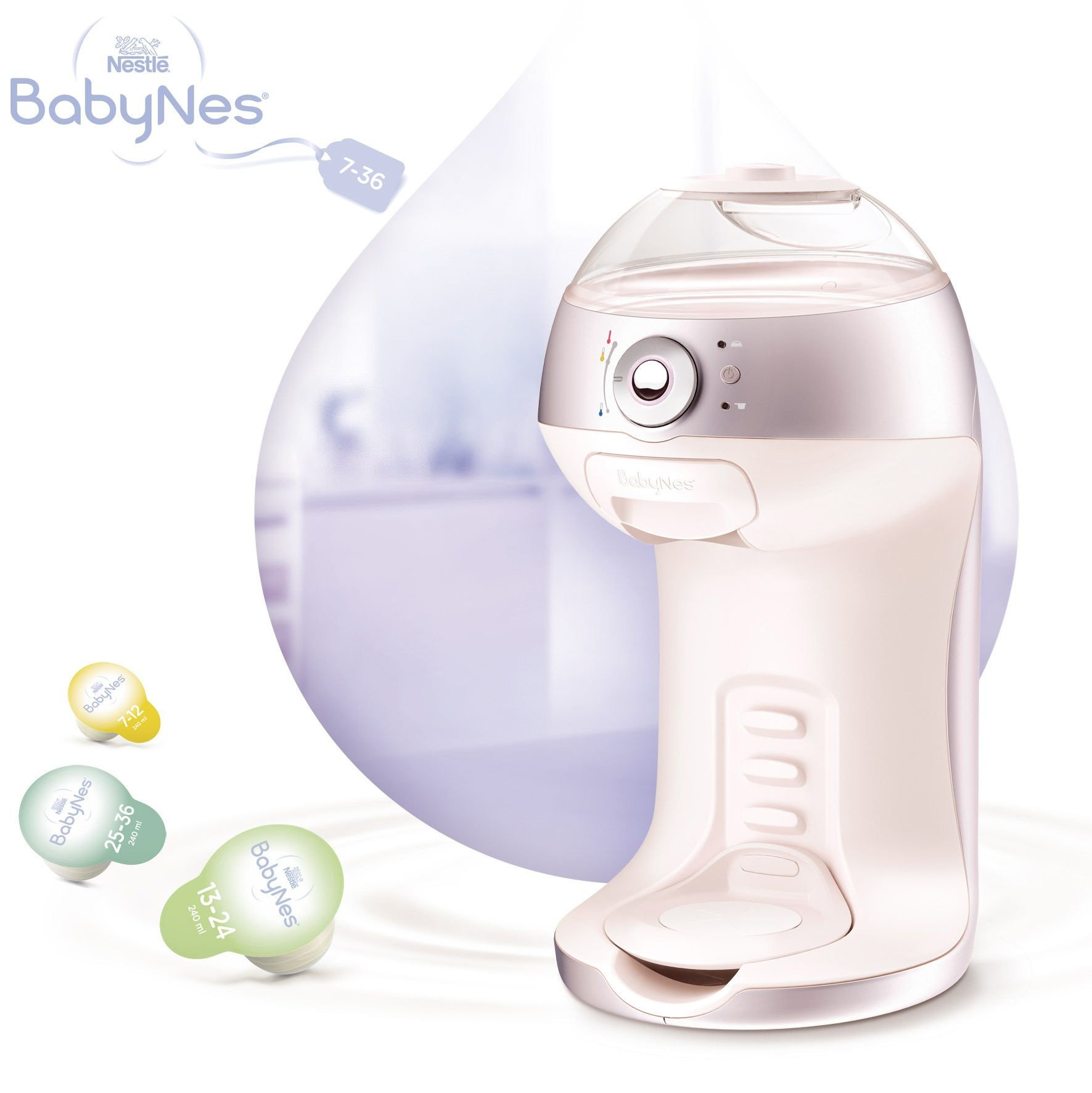 Le test de la machine BabyNes de Nestlé