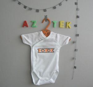 Tuto DIY :  le body Aztek