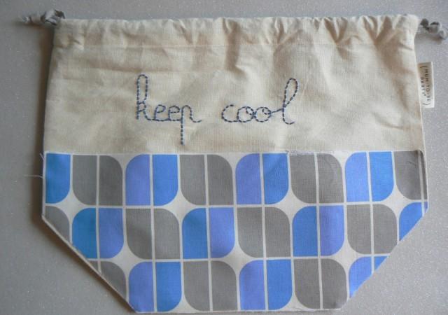 Tuto DIY : le pochon Keep Cool