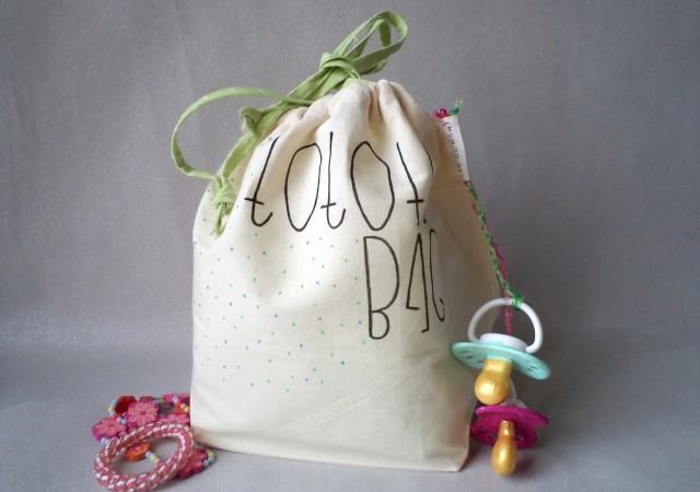 """Tuto DIY : le pochon """"Totote Bag"""""""