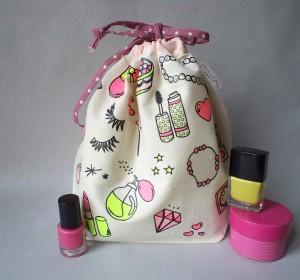 """Tuto DIY : le pochon """"Beauty Bag"""""""