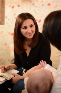 Karima, Rédactrice en chef et maman d'un enfant (5 ans)