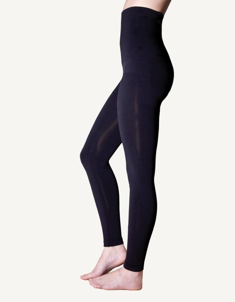 mode la plus désirable mode attrayante achat authentique Legging ventre plat post grossesse noir