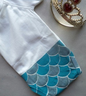 "Tuto DIY : le body ""Little Mermaid"""