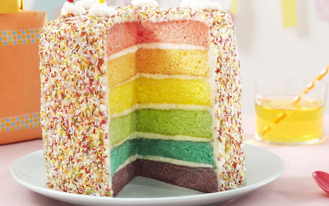 Recette Anniversaire.Gateau D Anniversaire La Recette Des Mini Rainbow Cakes