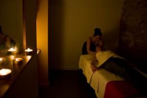 Le massage femme enceinte à l'Espace beauté d'Happy Families à Paris