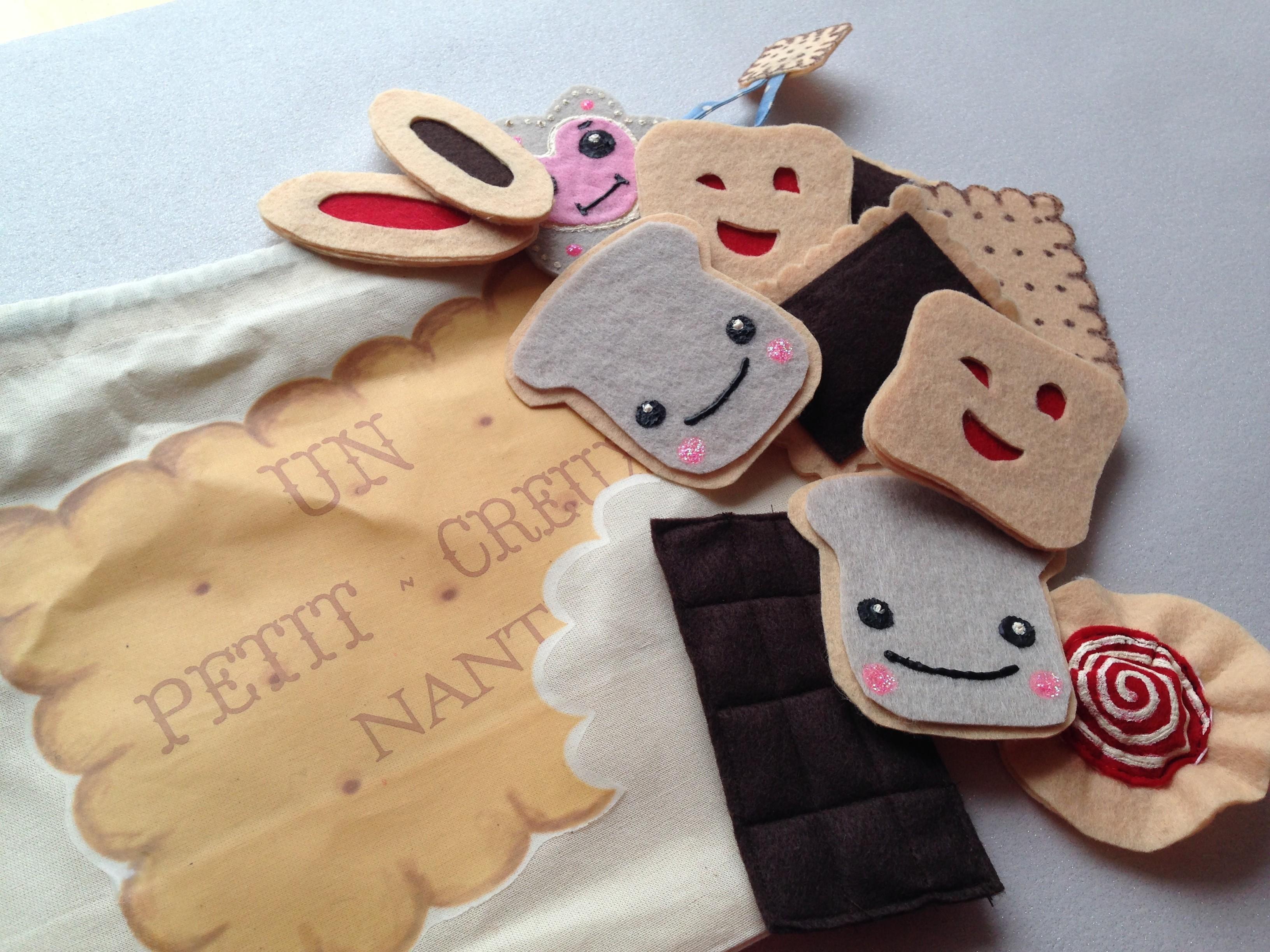 Tuto diy le sac go ter et ses biscuits feutrine mum - Patron sac en papier ...