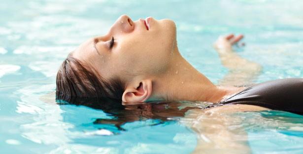 relaxation aquatique