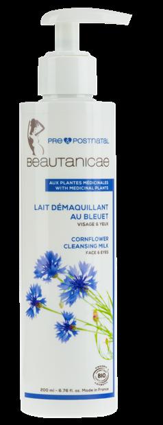 BEAUTANICAE_Lait D+®maquillant au Bleuet_Cornflower Cleansing Milk_200 ml_BD
