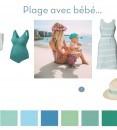 Mode grossesse : la tendance menthe à l'eau
