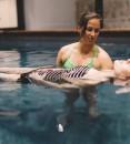 L'accompagnement prénatal aquatique testé par deux futures mamans à Paris