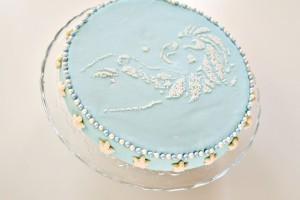 Tuto gâteau d'anniversaire Reine des Neiges facile
