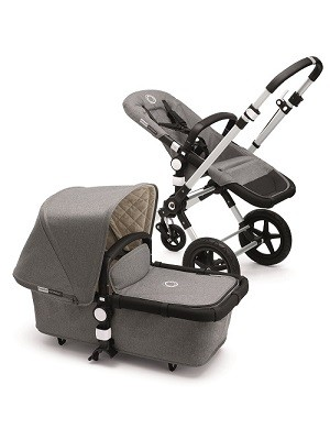 bugaboo cameleon classic+ gris chiné