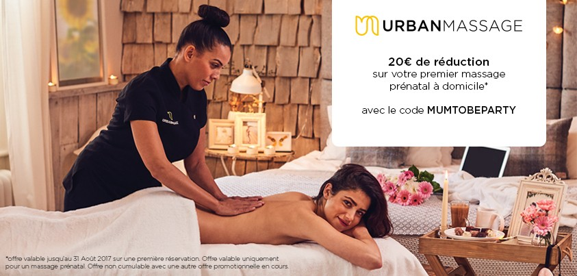 Bon plan Urban massage mumtobeparty