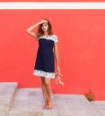 Idées de tenue femme enceinte pour une célébration l'été