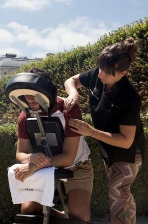 Bon plan jeunes mamans : le Summer Urban Massage Tour à Paris