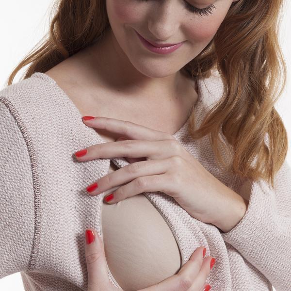 Sweat grossesse et allaitement rose pailleté-4824