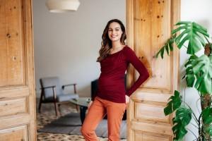 La mode durable pour futures et jeunes mamans : l'interview de Pomkin