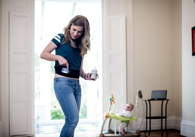 La ceinture de tonification abdominale Slendertone testée par une jeune maman