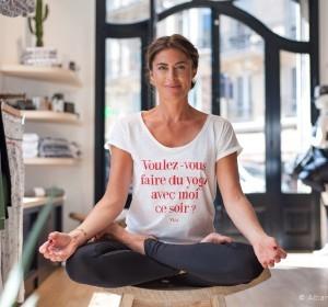 A la rencontre d'Hélène Duval, créatrice des vêtements et studios de yoga YUJ