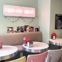 [BAKERY] Le spot gourmand et girly à souhait de Primrose Hill à quelques pas du Spa @cowshed qui propose multitudes de soins pour futures et jeunes mamans.  Just for u