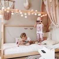 [IT'S ALL ABOUT DETAILS] Une chambre d'enfant chaleureuse et lumineuse, propice au rêve, aux rires et à l'imagination. Gros crush pour cette déco bohème chic par @good_moods_official. Vous aimez ? . credit photo @3elfenkinder  #bedrooms #children #deco #kidsdeco #dream #kidsbedroom #childbedroom #childbedroomdecor #homedecor #childrenroomdecor #kidsbedroomideas #kidsroominspo #kidsroominspiration #kidsdecoration #kidsdecor #bedroomdecor