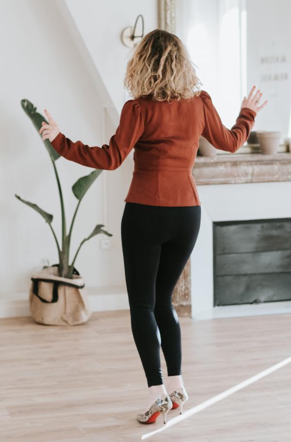 Legging gainant post grossesse Mother Tucker Noir -5691