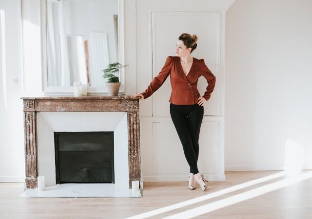 3 façons de porter le legging gainant post accouchement