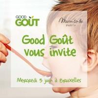 [GOOD GOÛT VOUS INVITE] C'est avec @goodgout, la marque spécialiste de l'alimentation bio des enfants, que nous partons à la rencontre des familles belges, une première ! Nous vous donnons RDV mercredi 5 juin à Bruxelles pour une matinée d'échange sur l'alimentation de bébé.  Deux ateliers très intéressants sur l'éveil du goût et la communication par les signes vous seront proposés autour d'un petit-déjeuner healthy et délicieux.  Vous avez des proches à Lille ou Bruxelles pouvant être intéressés ? N'hésitez pas à les taguer en commentaire !  Pour découvrir le programme complet et s'inscrire