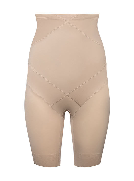 Panty extra gainant taille haute Cross Control nude-5672