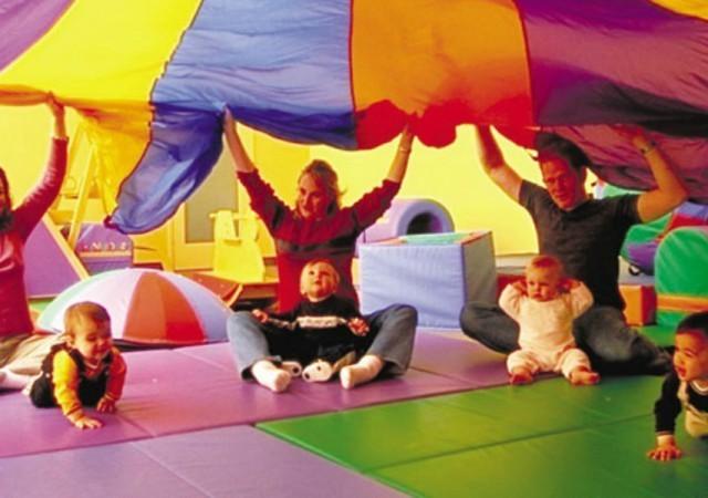 La baby gym, le premier sport de bébé